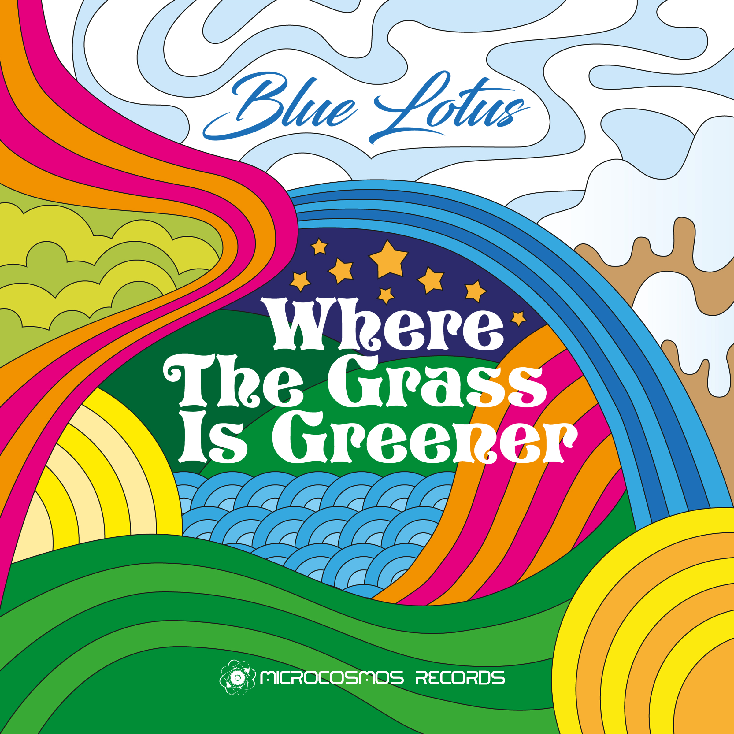 Blue Lotus — Where The Grass Is Greener